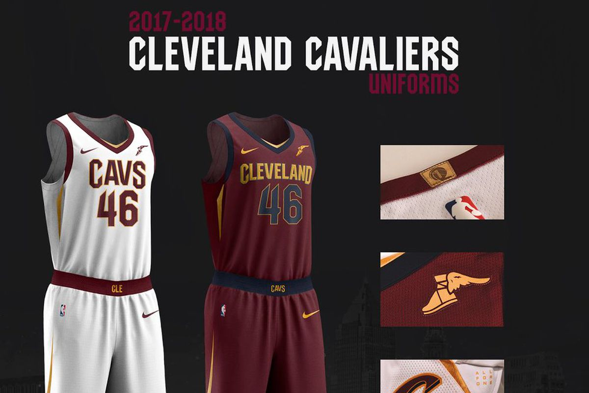 9f38dd0be The Cavs officially revealed their new Nike uniforms on Monday afternoon.