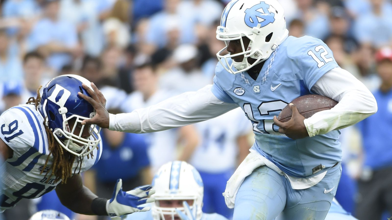 Unc Football Dumped A Basketball Amount Of Points On Duke