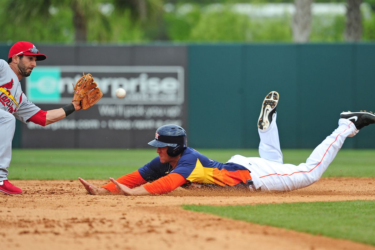 Springer was a bright spot on a quiet day for Astros farmhands