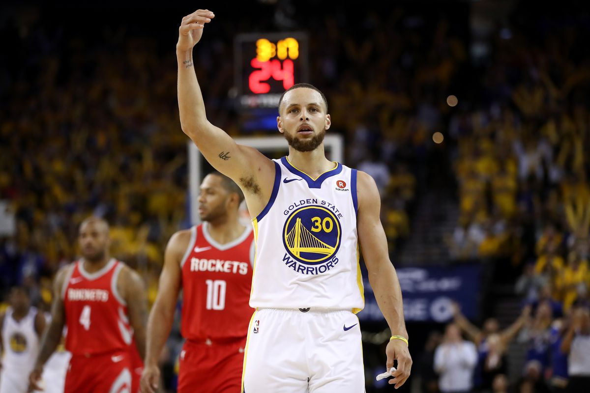 Warriors vs. Rockets Game 3  Stephen Curry is back. Take cover ... 8116318fb