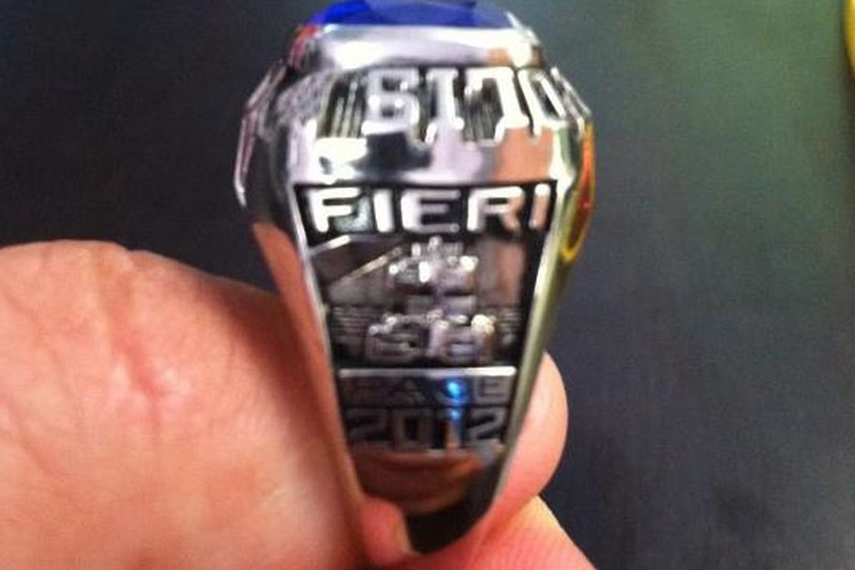 Guy Fieri Thumb Ring