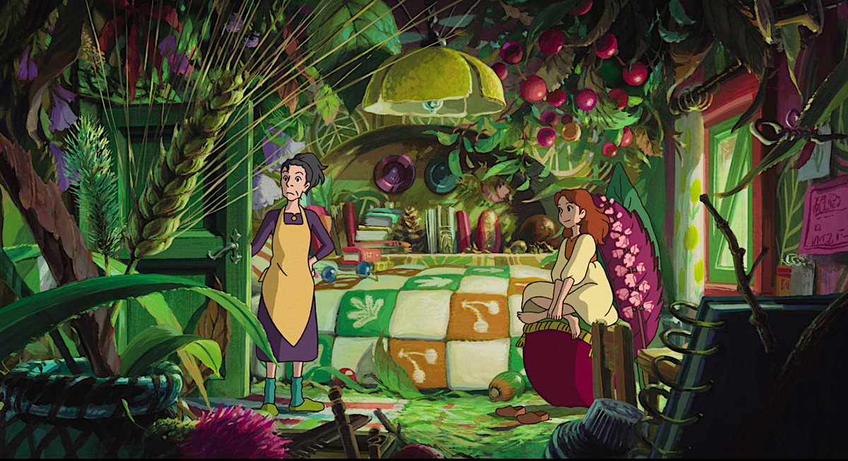 First borrowing from The Secret World of Arrietty