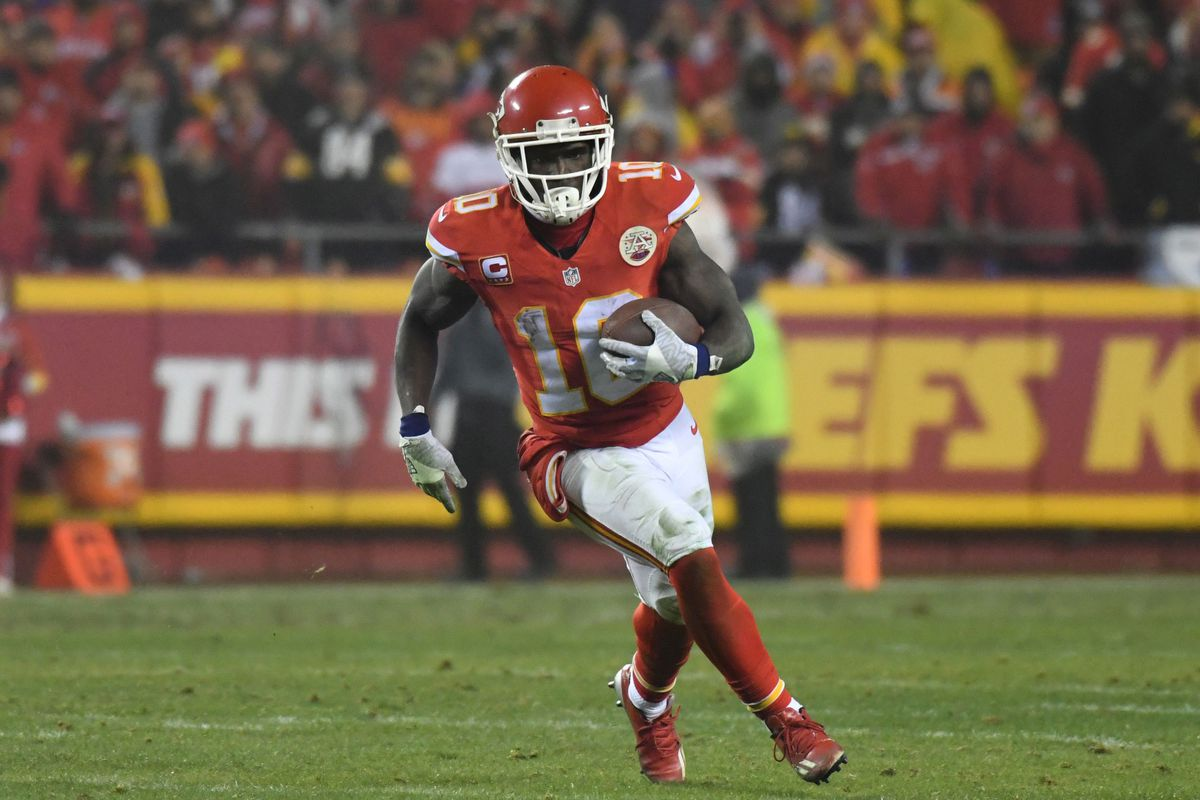 The Room Tyreek Hill Among Texans Biggest Challenges In