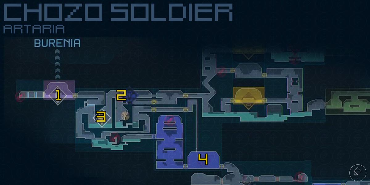 Metroid Dread Ferenia walkthrough and guide
