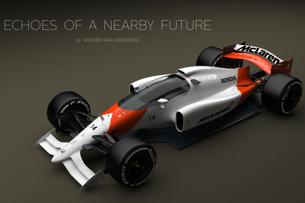 This crazy F1 concept car could save open wheel racing | The Verge