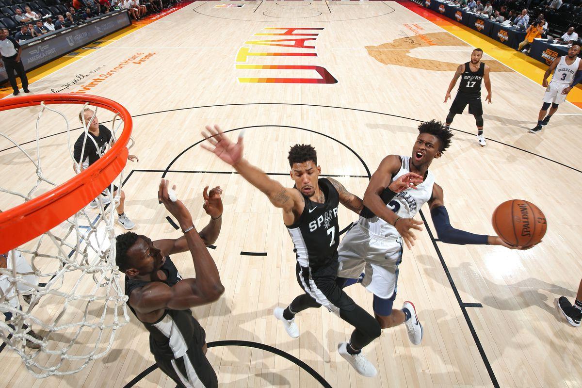 2018 Utah Summer League - Memphis Grizzlies v San Antonio Spurs