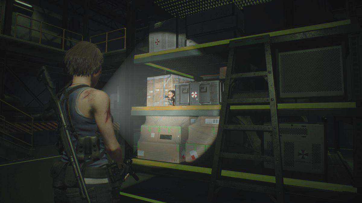 Resident Evil 3 Underground Storage Charlie Doll