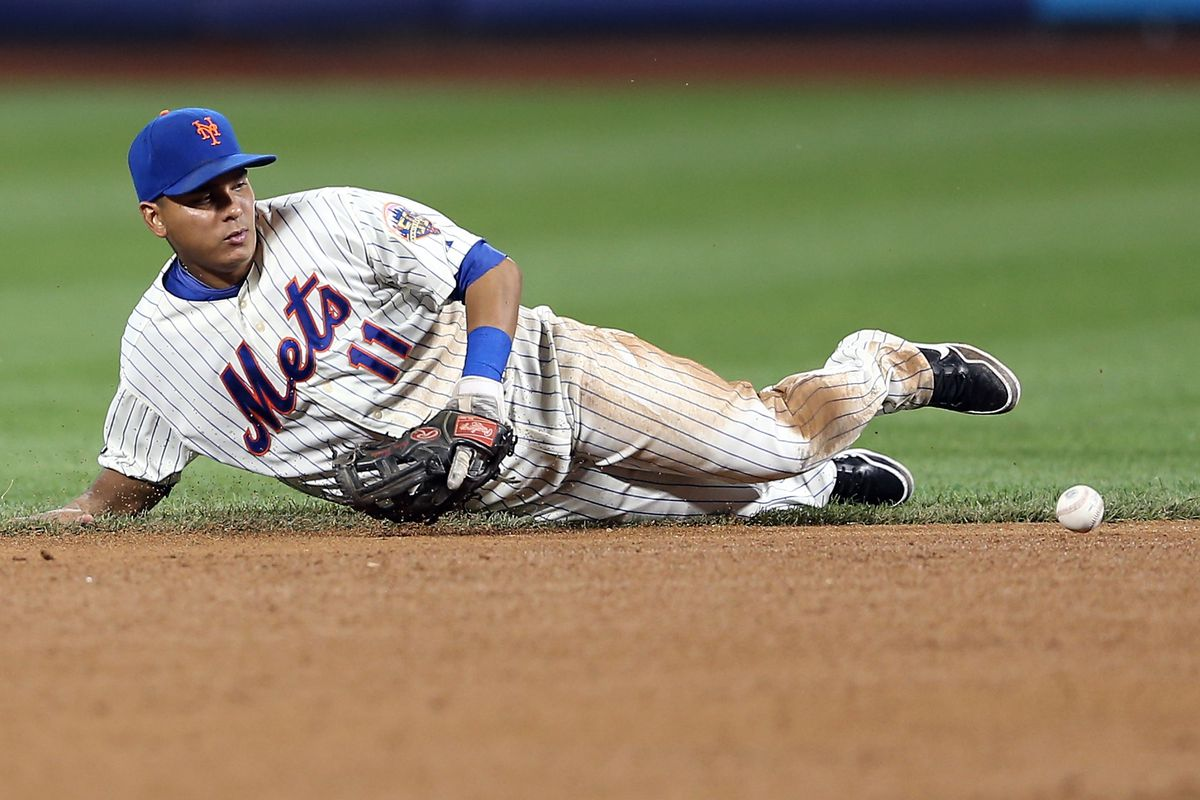 Tejada on the infield single that was the beginning of the end.