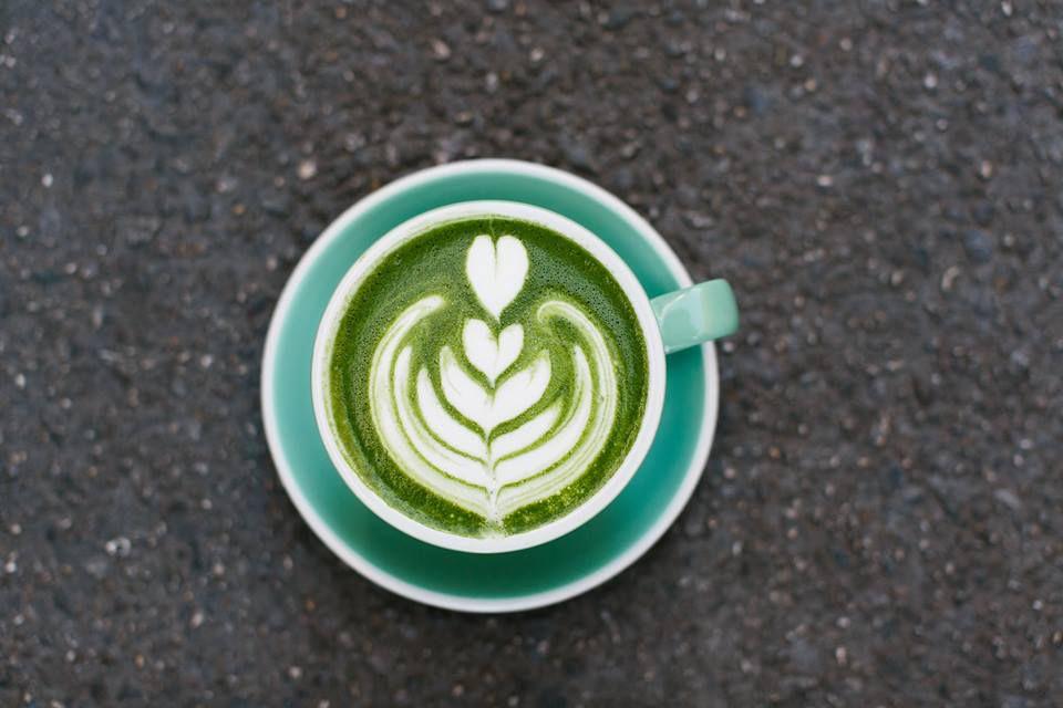 Alfred's matcha latte