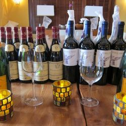 Tonight's wines