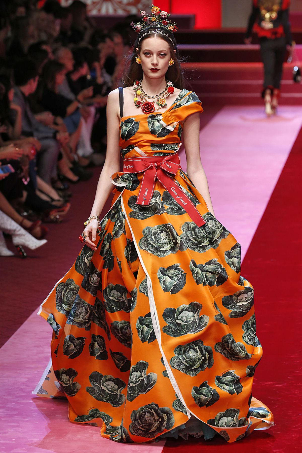 If This Dress Covered In Cabbages Doesn T Set Fall Bridal Trends Year I Will Be Shocked