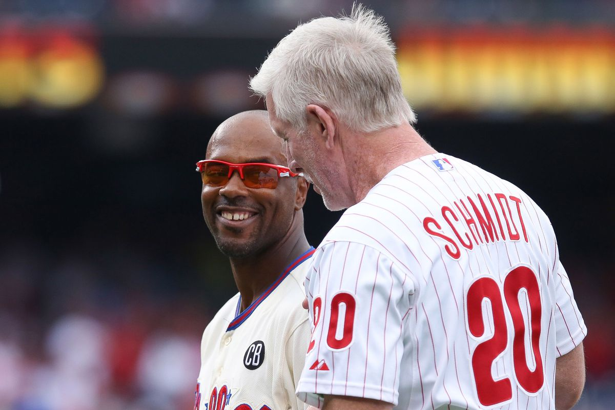 The left side of the infield for the all-time best Phillies team.