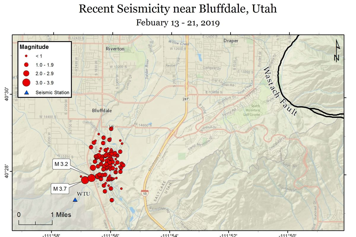 Early morning earthquake rattles residents in Bluffdale
