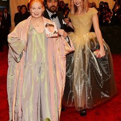 Vivienne Westwood, Andreas Kronthaler, and Lily Cole