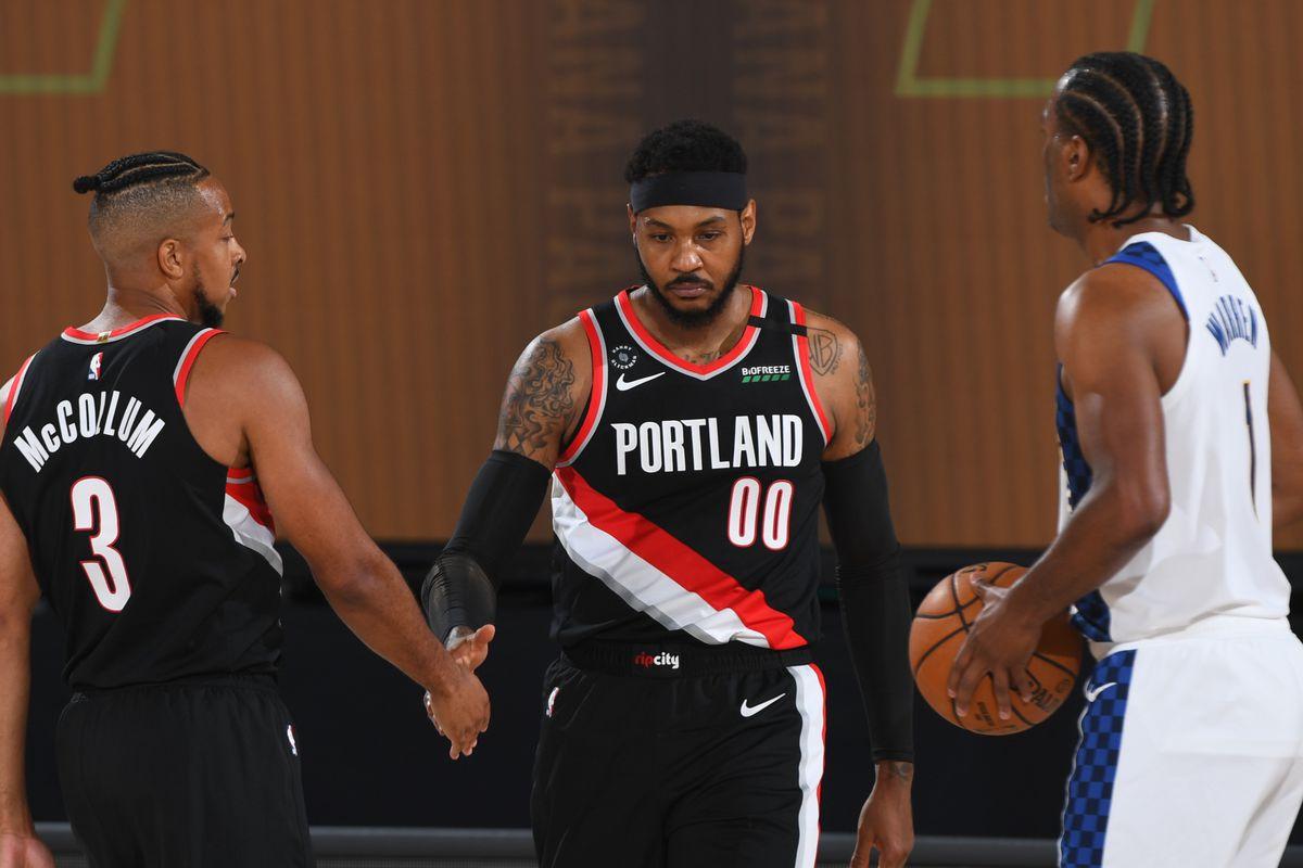 Portland Trail Blazers v Indiana Pacers