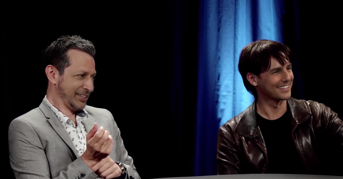 A celebrity deepfake roundtable with Tom Cruise and Jeff Goldblum is as weird as it sounds