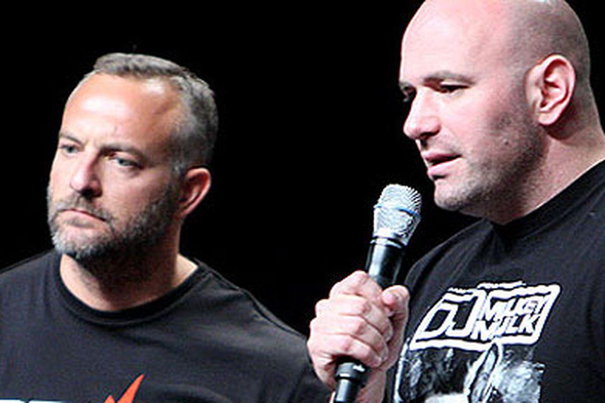 """via <a href=""""http://www.cagedinsider.com/wp-content/images/mma/2011/01/Lorenzo-Fertitta-Dana-White-UFC-NY.jpg"""">www.cagedinsider.com</a>"""