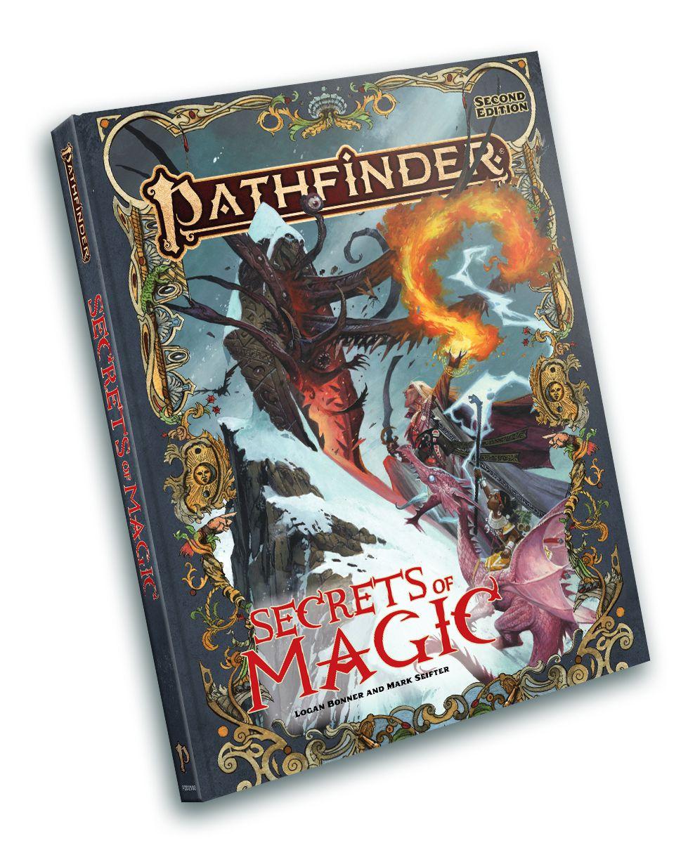 Cover art for Pathfinder Secrets of Magic.