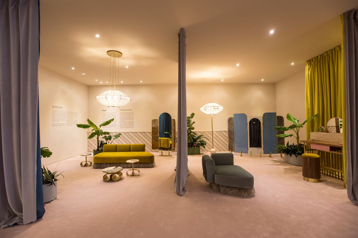Fendi S Traveling Dressing Room Is All Italian Glam Curbed