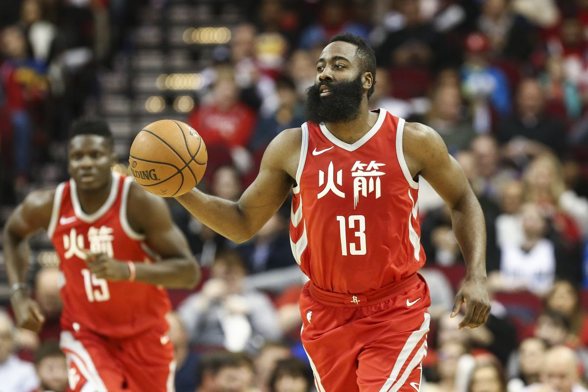 Joel Embiid, James Harden Named NBA's Players Of The Week