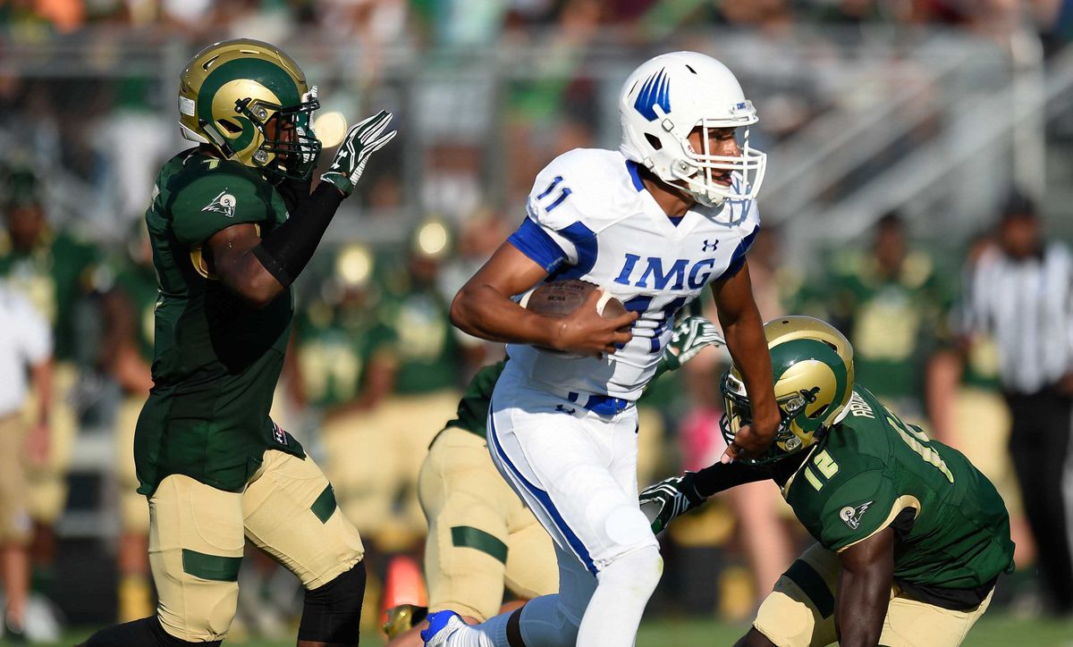 High School Football: IMG Academy at Grayson Rams