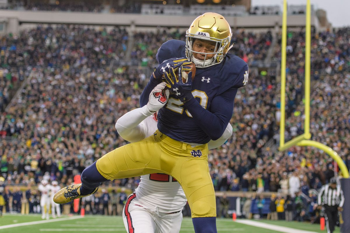 COLLEGE FOOTBALL: OCT 28 NC State at Notre Dame