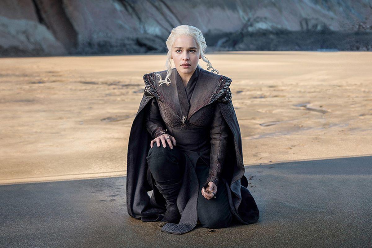 "Mother of Dragons Daenerys Targaryen in HBO's ""Game of Thrones."""
