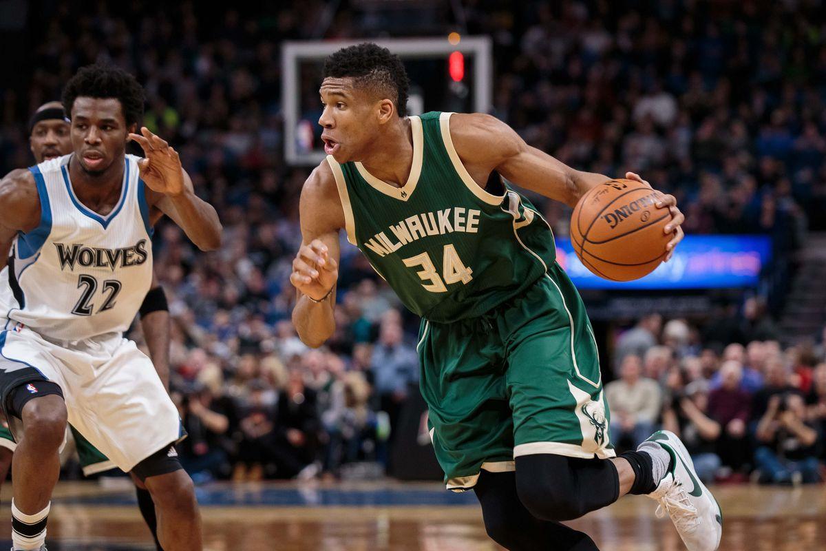 NBA: Milwaukee Bucks at Minnesota Timberwolves
