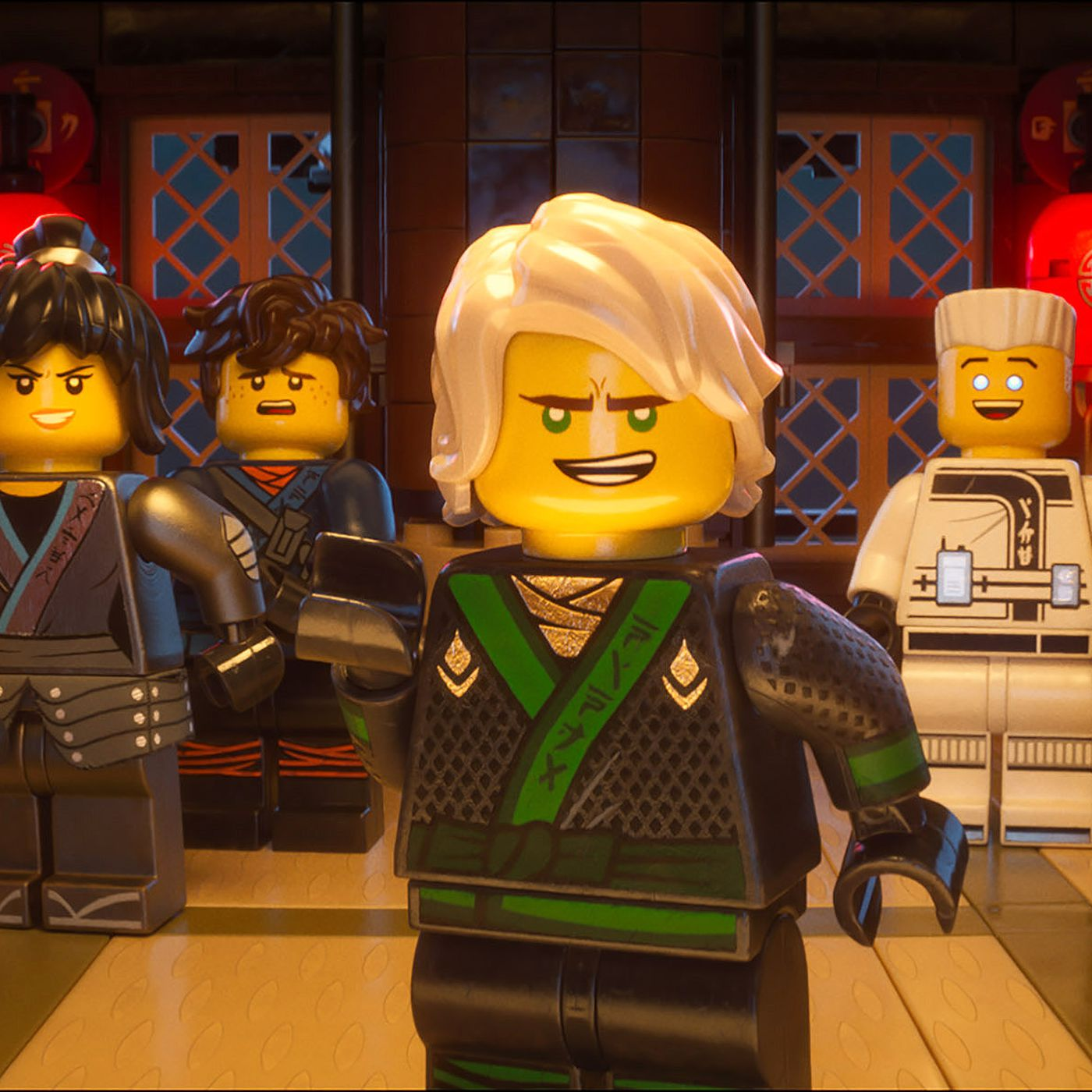 The First Lego Ninjago Movie Trailer Is Here