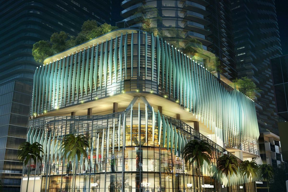 A new condo rendering in brickell showing the base