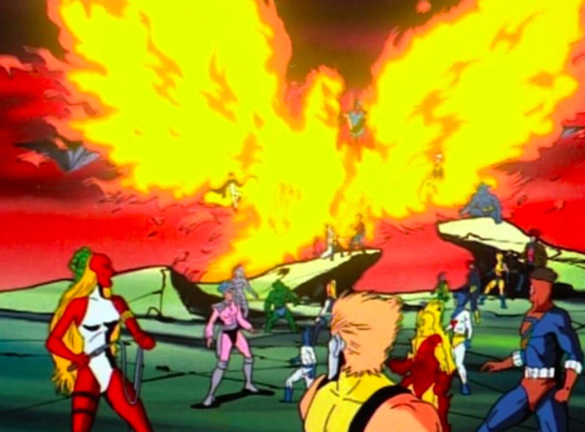 The Phoenix Saga: Jean becomes the Phoenix in X-Men The Animated Series