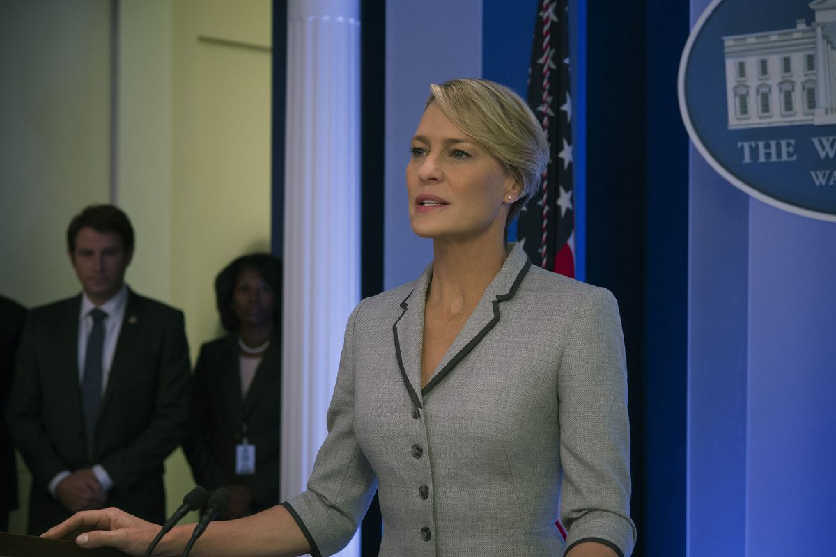 Claire on House of Cards