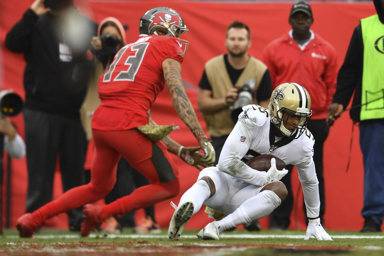 NFL: NOV 17 Saints at Buccaneers