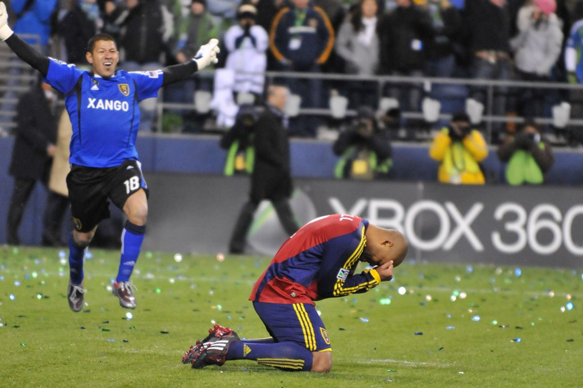 Perhaps no moment in RSL history says more than this one, thanks to Robbie Russell.  You will be missed.  Photo by Me