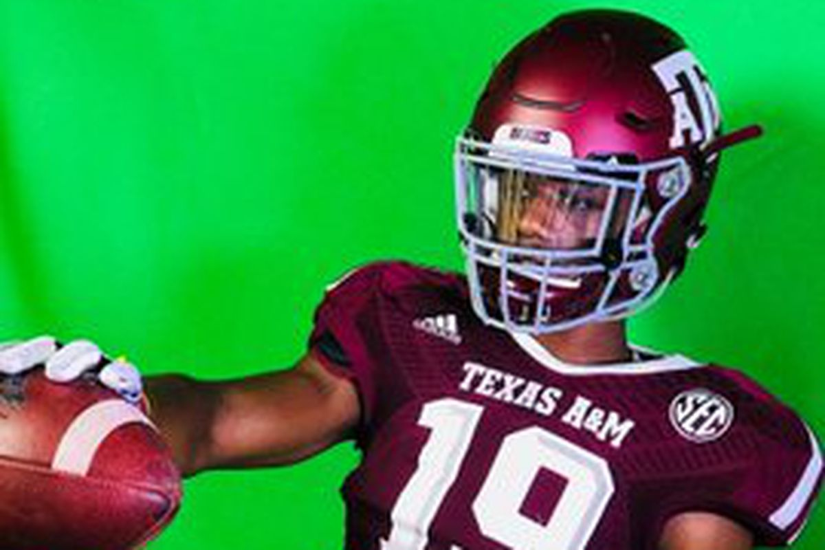 2021 North Shore Wr Recruit Shadrach Banks Commits To Texas A M Aggies Good Bull Hunting