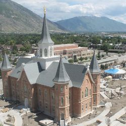 The Provo City Center Temple will be dedicated in three sessions on March 20.