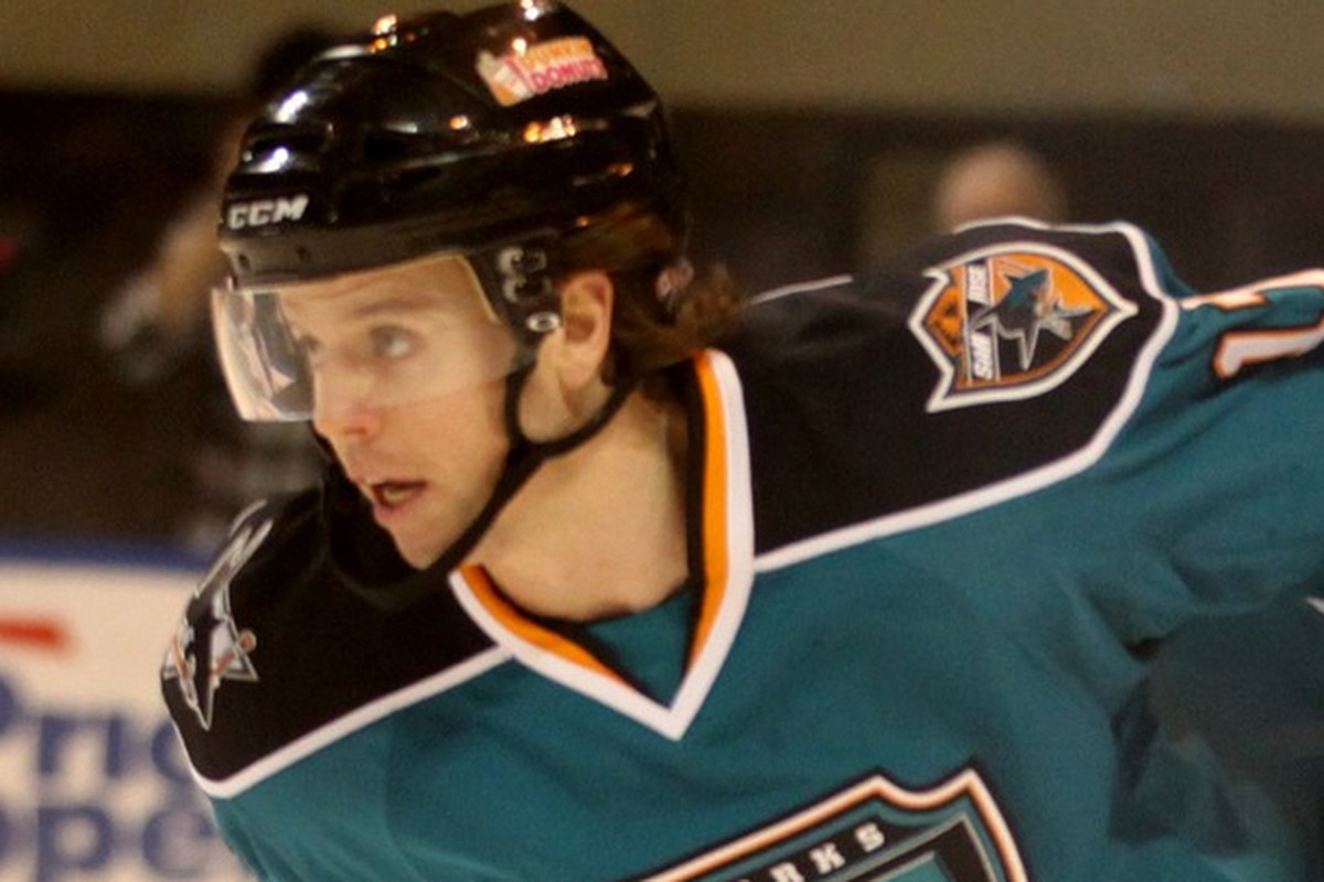 Worcester Sharks forward John McCarthy became the franchise's all-time leading scorer with his three point game in the Sharks' 5-1 road win over the Bridgeport Sound Tigers Wednesday night at the Webster Bank Arena (Instagram.com/worcestesharks).