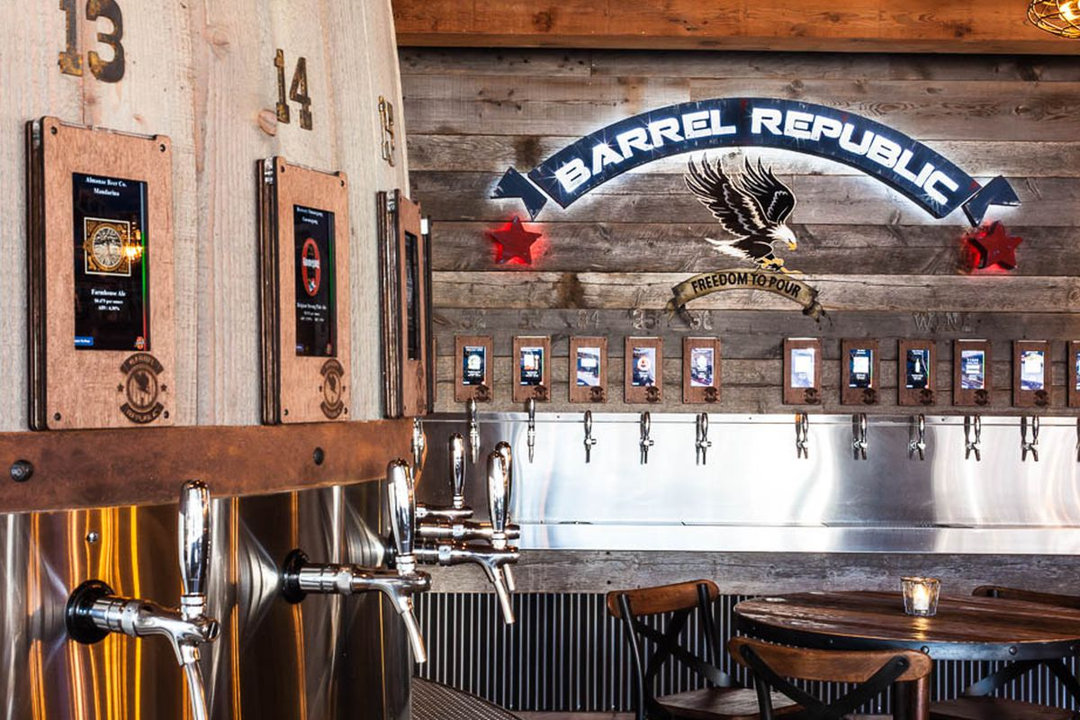 Self Serve Craft Beer Bar Taps Into Carlsbad Eater San Diego