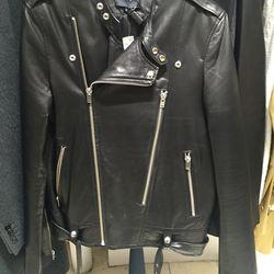 Iro leather jacket, size medium, $455.60 (was $1.890)