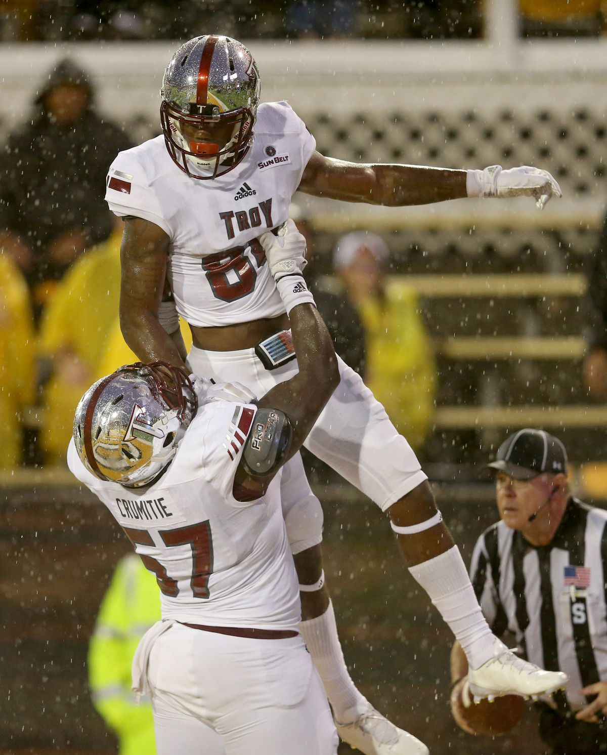 NCAA Football: Troy at Southern Mississippi