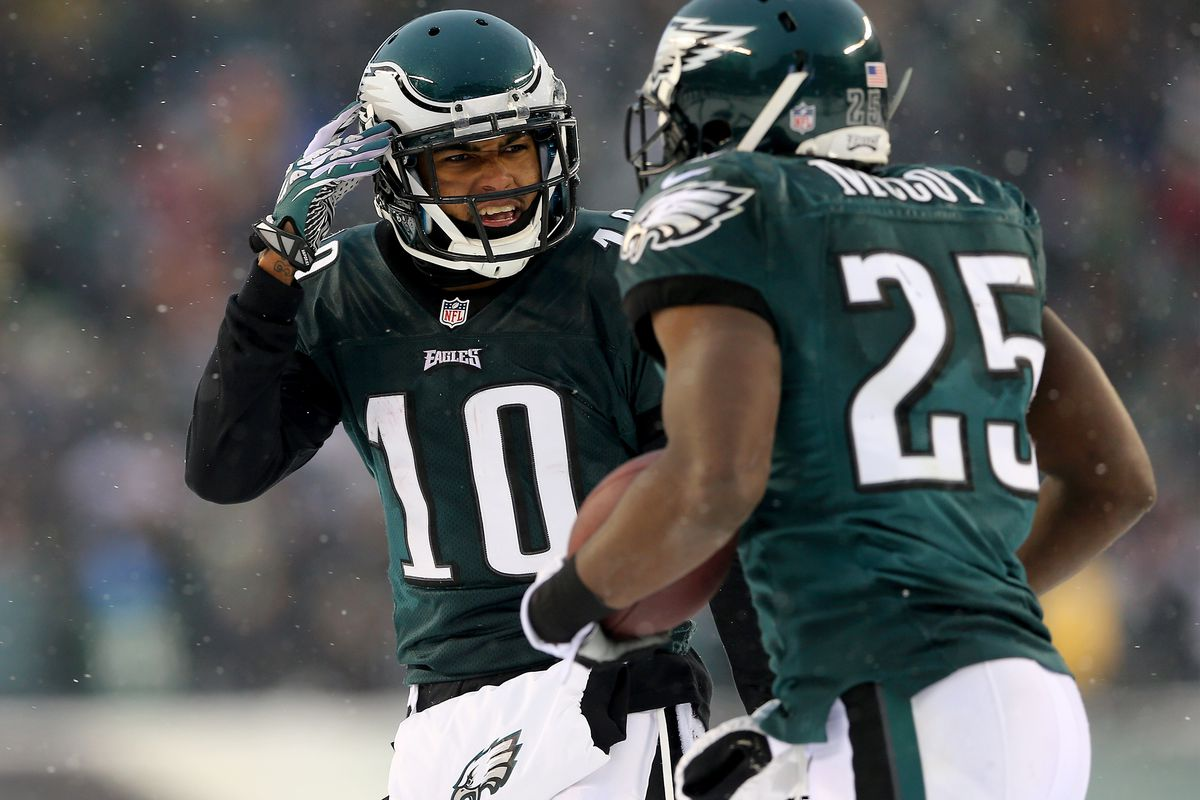 DeSean Jackson AND LeSean McCoy back on the Eagles in 2017