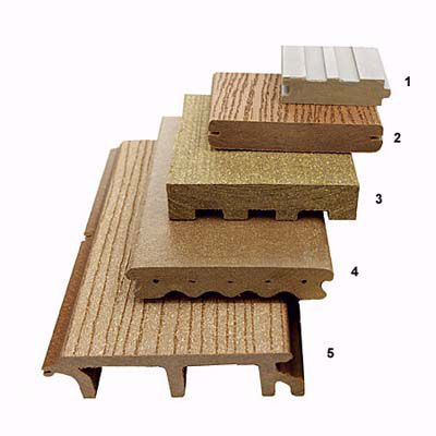 Engineered Wood For Decking