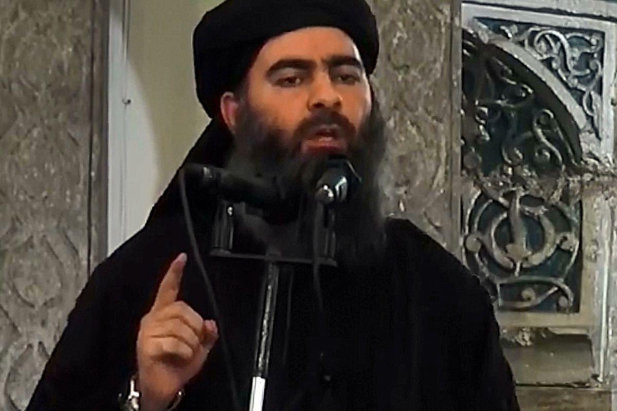 Abu Bakr al-Baghdadi, who declared himself the new caliph