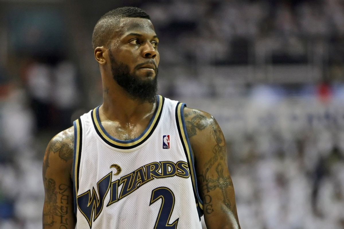 02bfa41ba Remembering DeShawn Stevenson s unusual journey to becoming a Wizards cult  hero