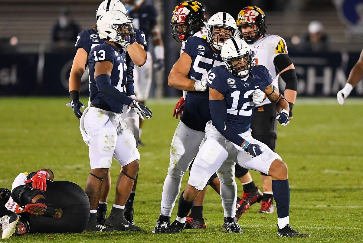 NCAA Football: Maryland at Penn State