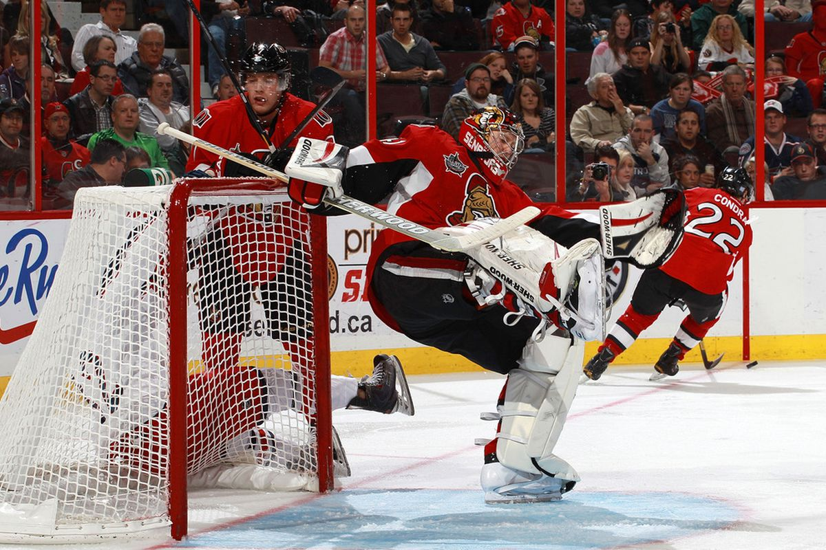 Craig Anderson probably still could have made the save with the way he played last year.