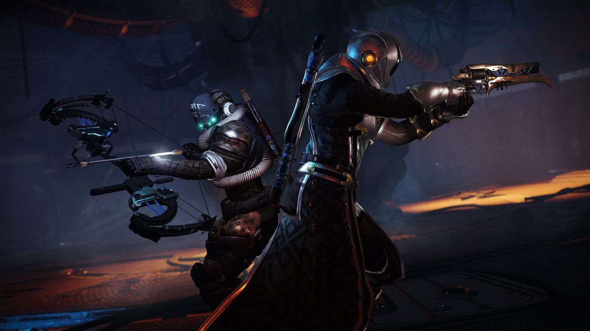 Destiny 2: Forsaken Titan and Warlock fight stuff