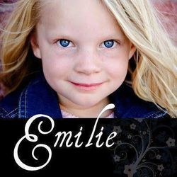 A photo of Emilie Parker, 6, who was killed in the mass shooting at Sandy Hook Elementary School in Newtown, Conn., on Friday, Dec. 14, 2012.