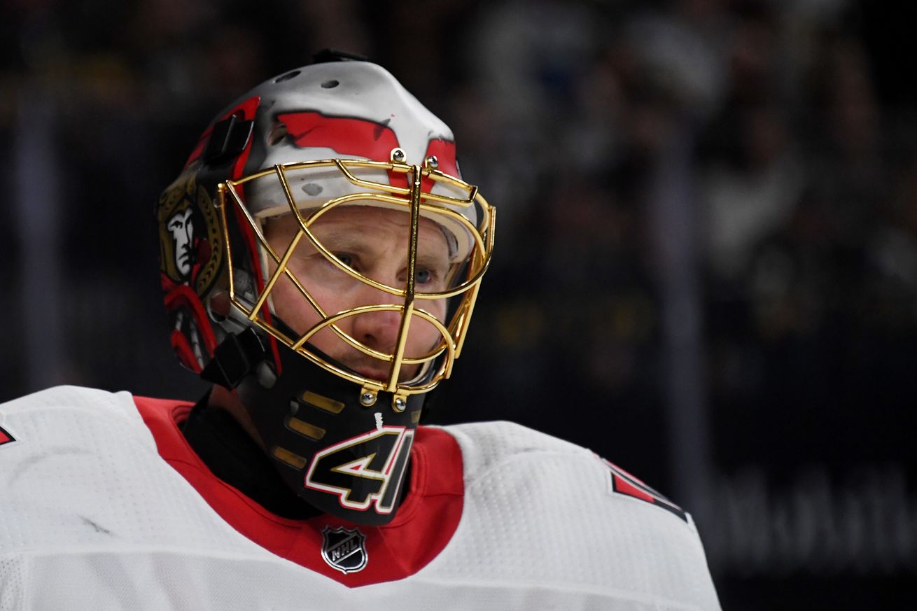 Craig Anderson Could Be On The Move