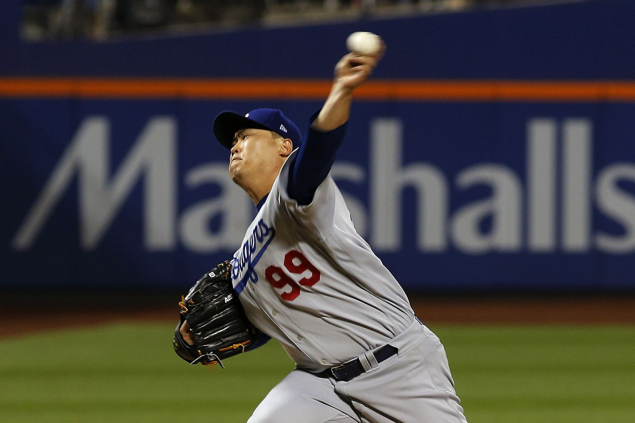 Ryu deals against Mets, but Dodgers fall 3-0